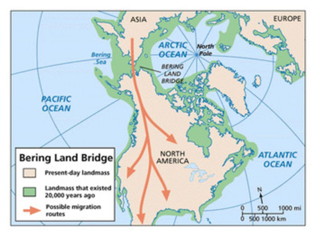 The Bering Land Bridge