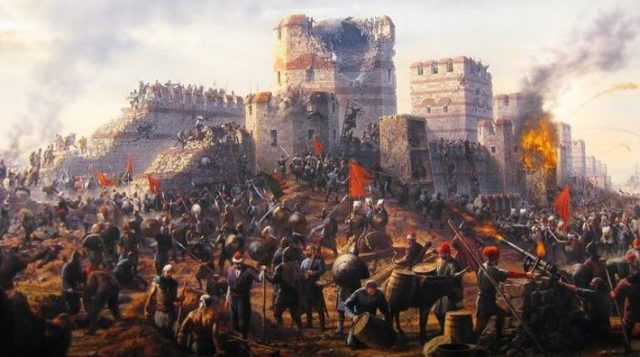The fall of Rome Empire