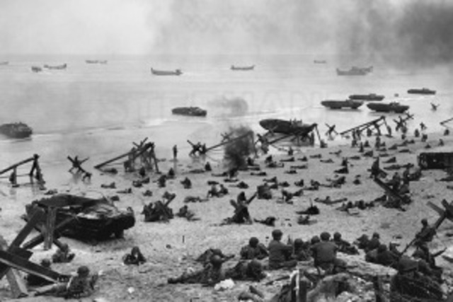 The invasion of Normandy, code named Operation Overlord, or D-Day, takes place.