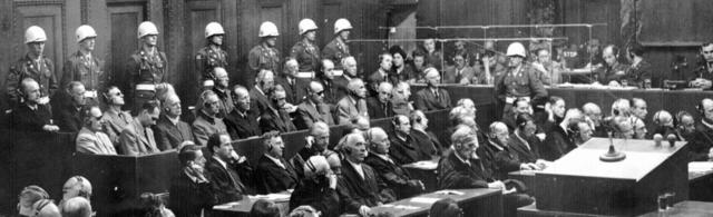 The Nuremberg Trials begin