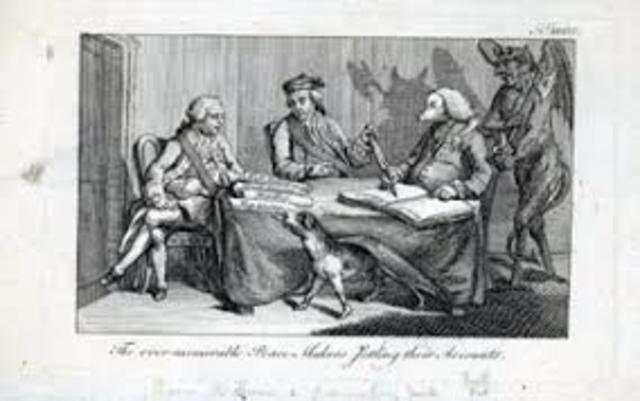 The Seven War:Treaty of Paris of 1763