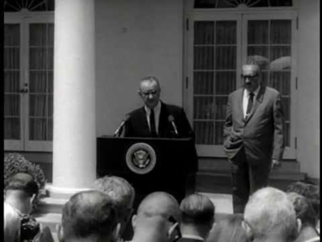 Thurgood Marshall nominated to the Supreme Court