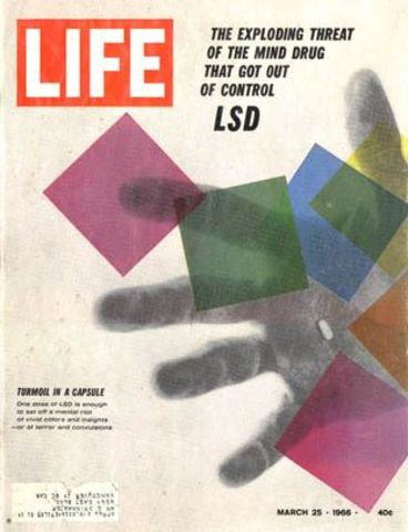 LSD Declared illegal by the US government