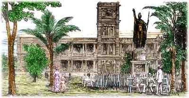 Hawaii Annexation Ceremony