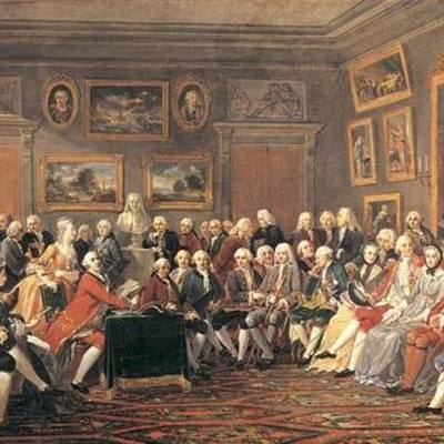 Siglo XVIII  - Siglo Liberal y Capitalista de la revolución intelectual Técnica y Política timeline