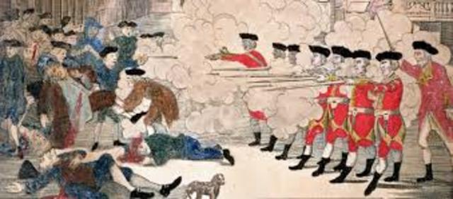 Boston Massacre: Paul Revere