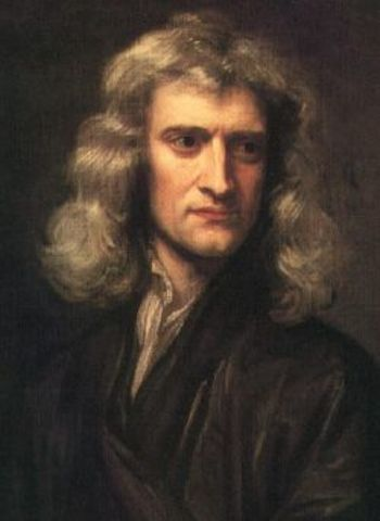 Sir Issac Newton, Enlightenment