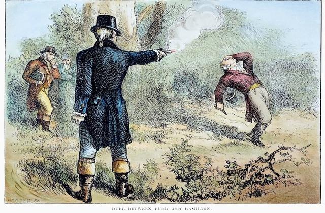 The Duel (Bur vs Hamilton)