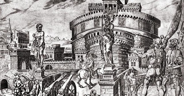 Sacco di Roma, 6 maggio 1527; poi cacciata dei Medici