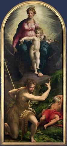 Parmigianino, Visione di San Girolamo, 1526-27, LNG