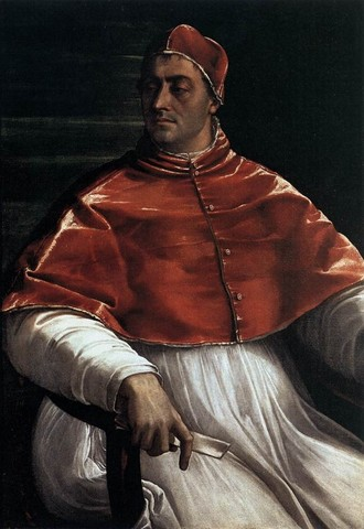 Sebastiano del Piombo, Ritratto di Clemente VII, 2, 1526, olio su telaNapoli, Museo di Capodimonte