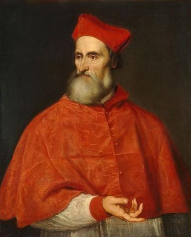 Tiziano Vecellio, Ritratto di Pietro Bembo, 1539, WNG