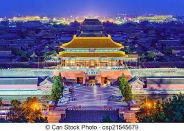 Emperor Yong Le Builds the Imperial City