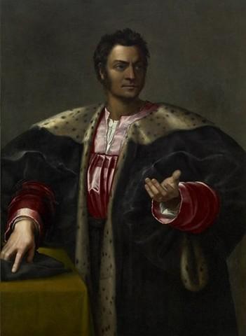 Sebastiano del Piombo, Antonfrancesco degli Albizi, Houston, MoFa, 1525