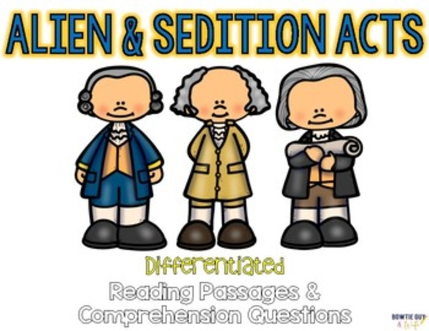 Alien and Sedition acts