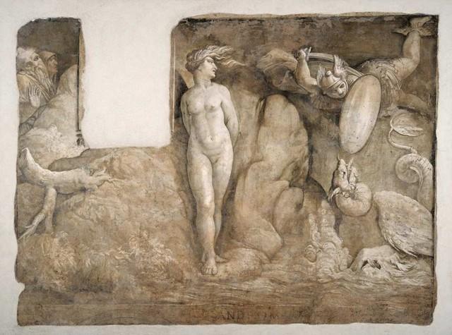 Polidoro e Maturino, Andromeda liberata dal mostro, Palazzo Braschi