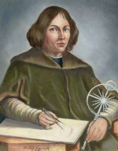 "Nicolas Copernicus publishes ""On the Revolution of the Celestial Spheres"""