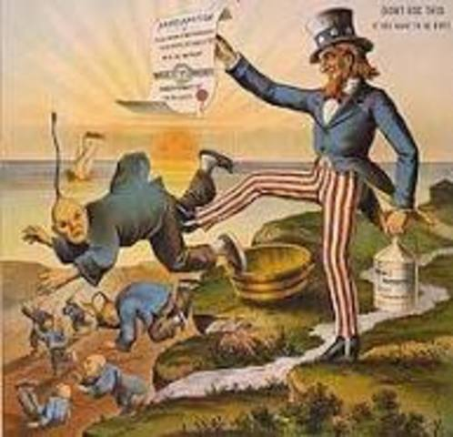 Chester A. Arthur / Chinese Exclusion Act
