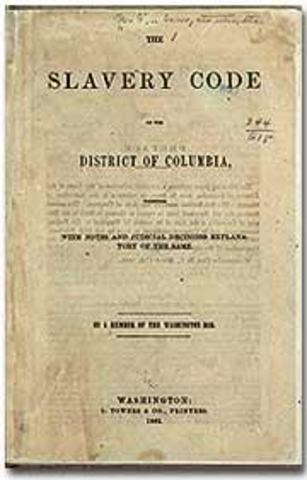 Slavery (Slave Codes)
