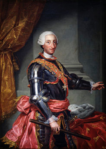 Carlos III accede al trono.
