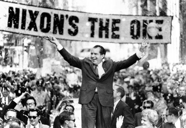 Richard Nixon Elected