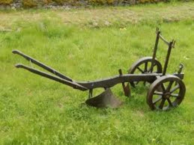 Changes in Agriculture (Iron Plow)