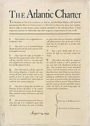 Franklin D. Roosevelt / The Atlantic Charter