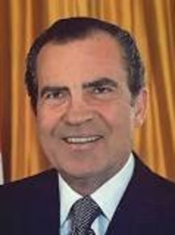 Richard Nixon / EPA Created