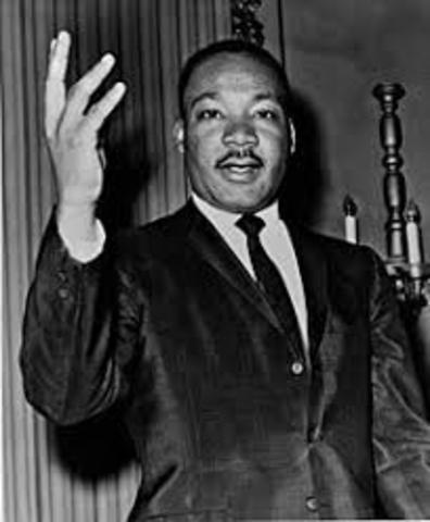MLK Jr Assassinated