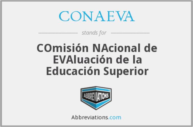 Comisión Nacional de Evaluación (CONAEVA)