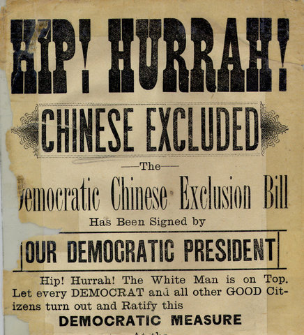 Chester Arthur * Chinese Exclusion Act*