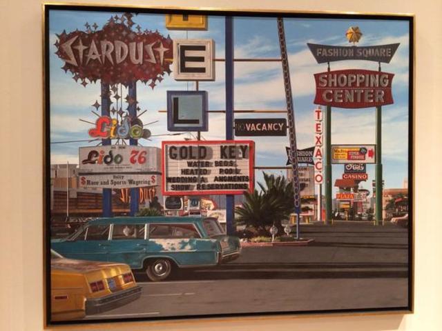 Stardust Motel - John Baeder - photorealism