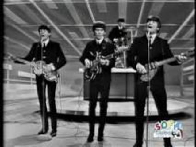 The Beatles appear on Ed Sullivan
