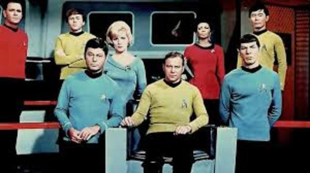 Star Trek TV show airs