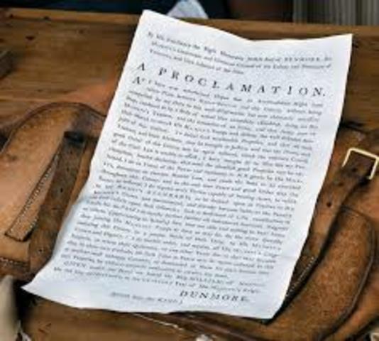 Dunmore Proclamation