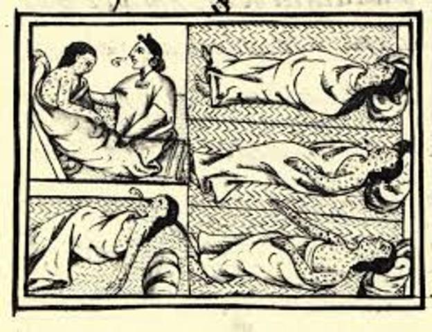 Columbian exchange- diseases