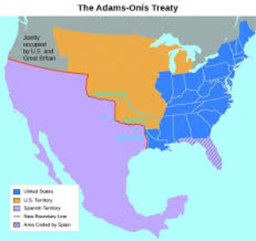 Adam Onis Treaty