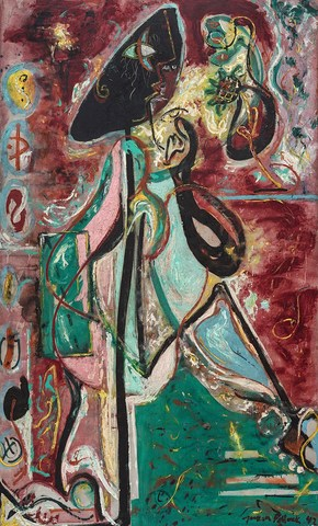 Moon Woman- Jackson Pollock