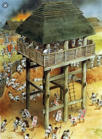Yayoi People Organize Japan