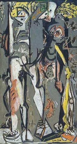 Two- Jackson Pollock