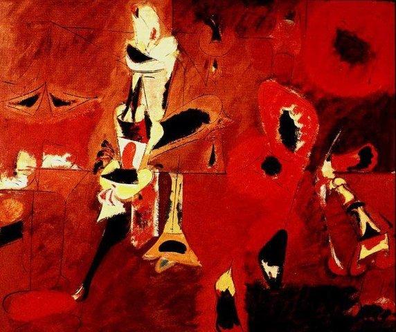 Agony- Arshile Gorky