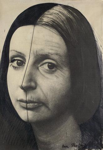 Change - painting - Ewa Partum