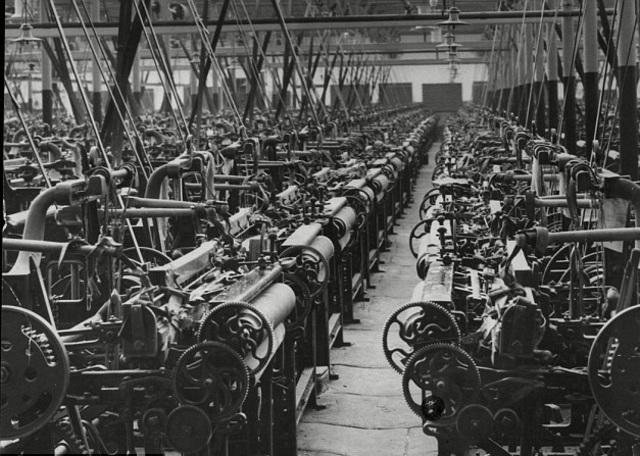 Labor changes: Mass Production