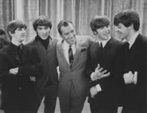 The Beatles appear on Ed Sullivan