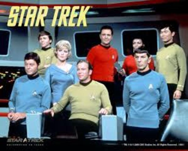 """Star Trek"" TV Show airs"