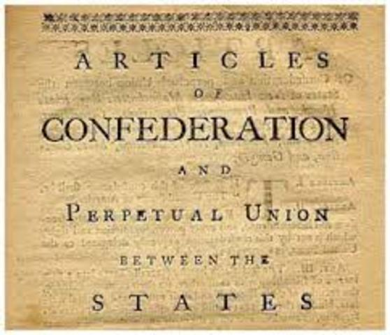 Debt problems in Articles of Confederation