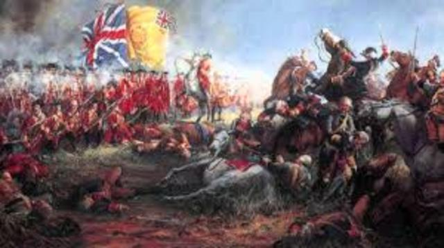 Seven Years war (French and Indian War)