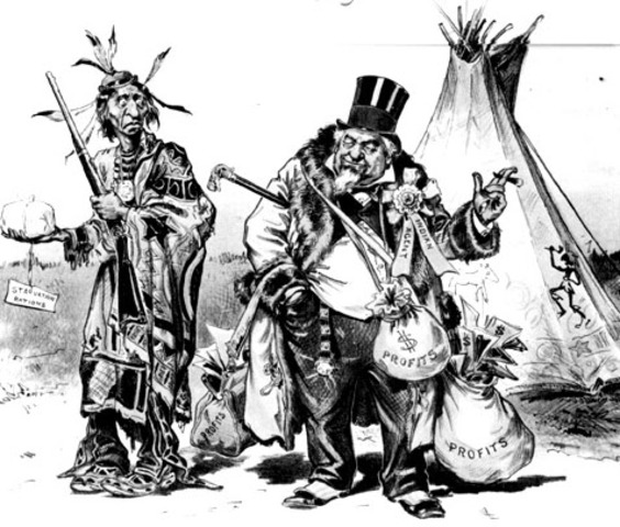 Western Frontier: Removal of Natives
