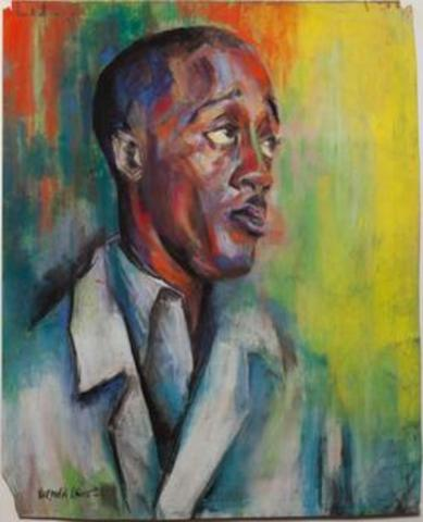 Self-Portrait - Norman Lewis