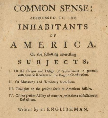 Common Sense (Thomas Paine)